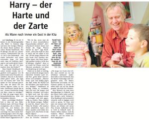 Ein Portrait über Harry in der LZ (15. Juni 2013)